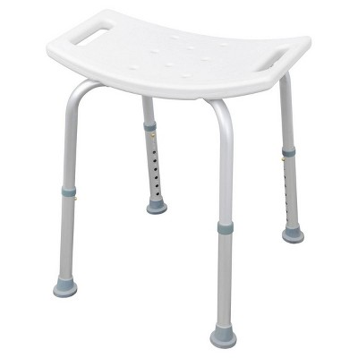 Shower Stool White - evekare