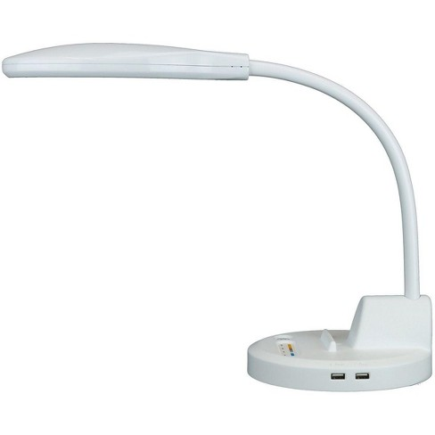 Thinkgeek Inc Lamp Advanced Led Task Lighting With Integrated Usb Station White