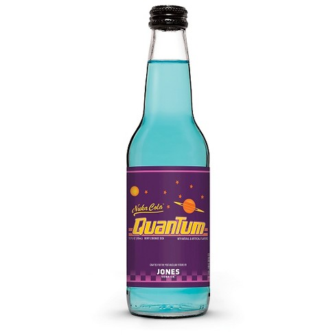 Nuka Cola Quantum for Fallout 4 - 12 fl oz Glass Bottle - image 1 of 1
