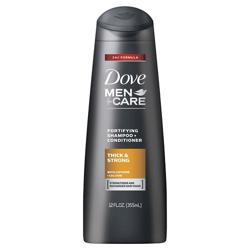 Dove Men+Care Thick and Strong 2 in 1 Shampoo and Conditioner - 12 fl oz - image 1 of 2