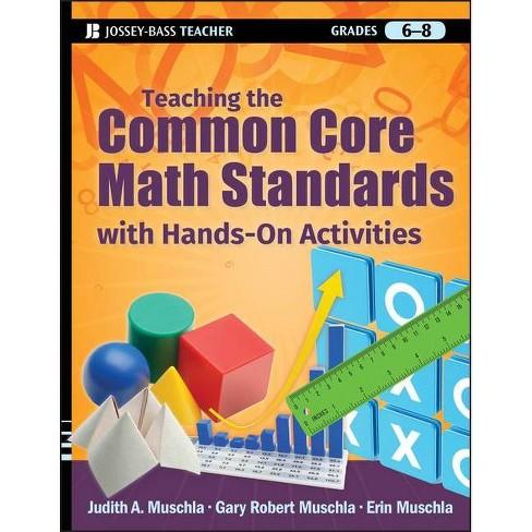Teaching the Common Core Math Standards with Hands-On Activities, Grades 6-8 - (Jossey-Bass Teacher) - image 1 of 1