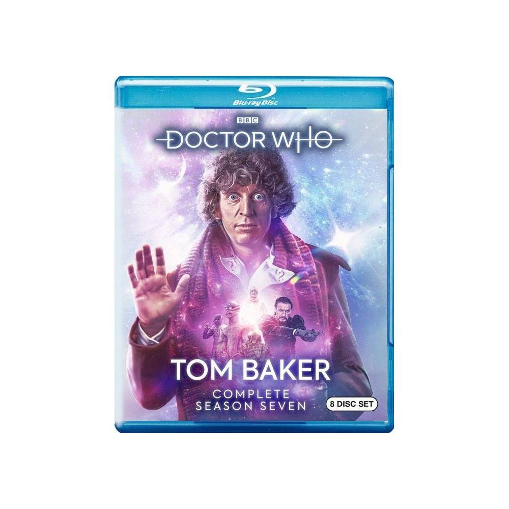 Doctor Who Tom Baker The Complete Season Seven Blu Ray
