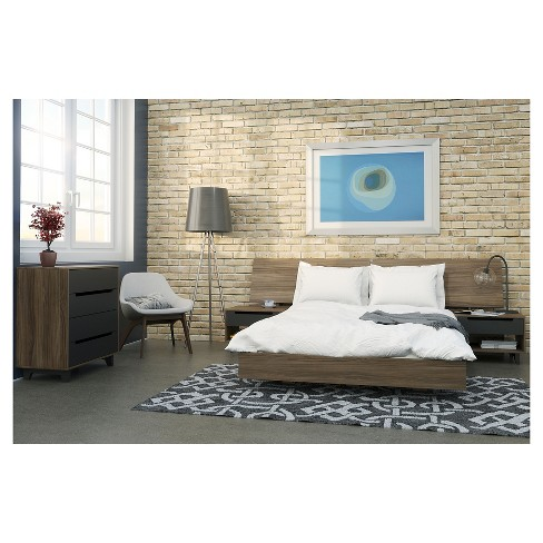 5 Piece Alibi Queen Size Bedroom Set - Nexera