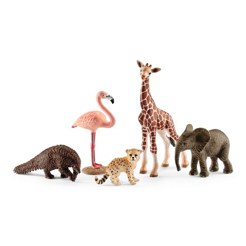 Schleich Wild Life Assorted Animals Value Pack Playset - image 1 of 2