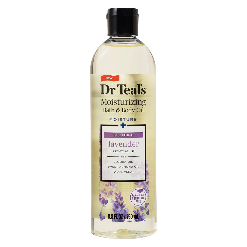 Image of Dr Teal's Lavender Moisturizing Bath & Body Oil - 8.8 fl oz