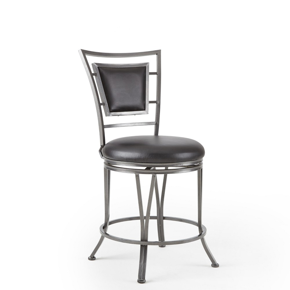 Tremendous 30 Atena Swivel Bar Stool Metal Grey Steve Silver Creativecarmelina Interior Chair Design Creativecarmelinacom