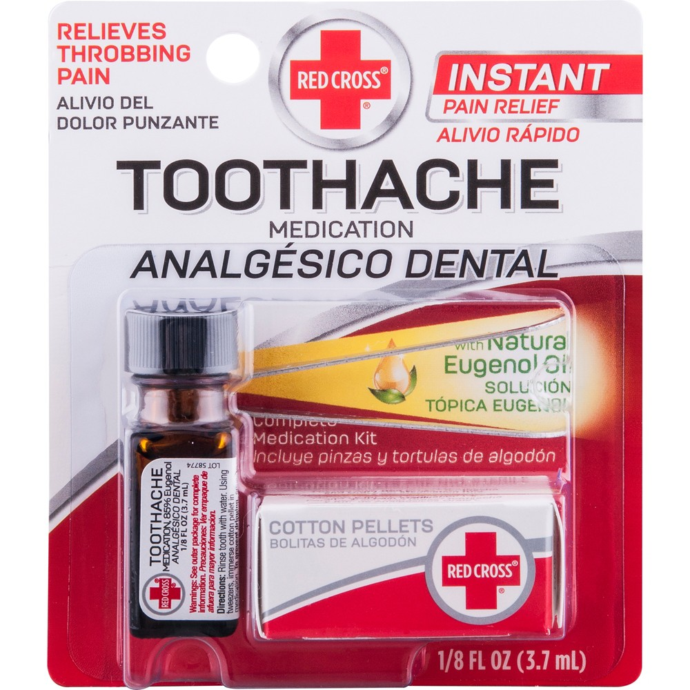 Image of Mentholatum Redcross Toothcare Relief