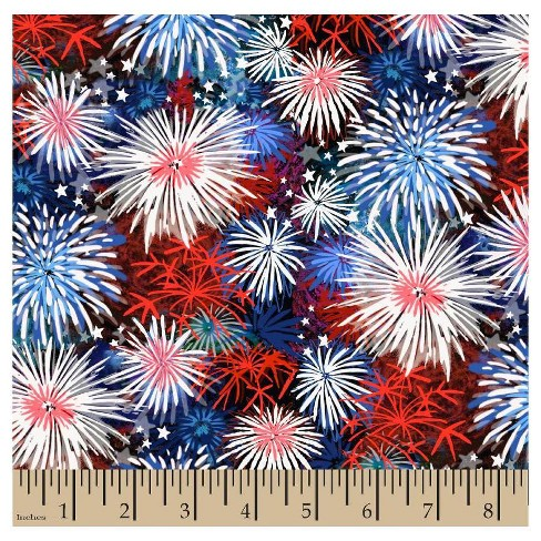 Fireworks Fabric by the Yard - image 1 of 1