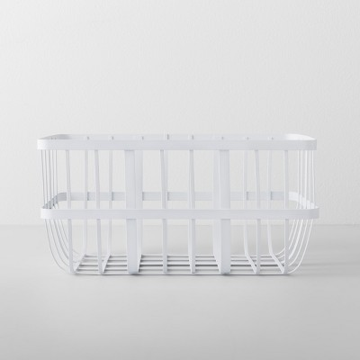 Kitchen Cabinet Organizer Basket Large White - Made By Design™