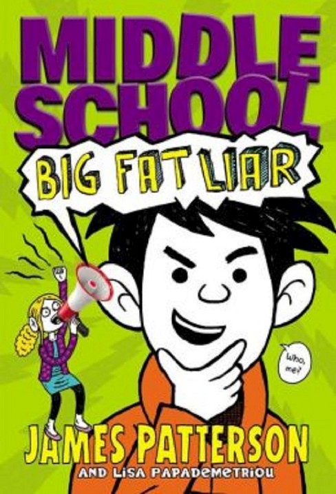 Middle School Big Fat Liar Hardcover By James Target