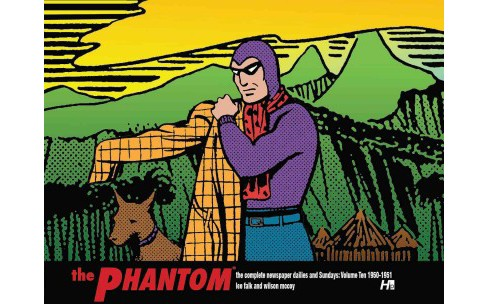 Phantom : The Complete Newspaper Dailies and Sundays: 1950-1951 (Vol 10) (Hardcover) (Lee Falk & Ray - image 1 of 1