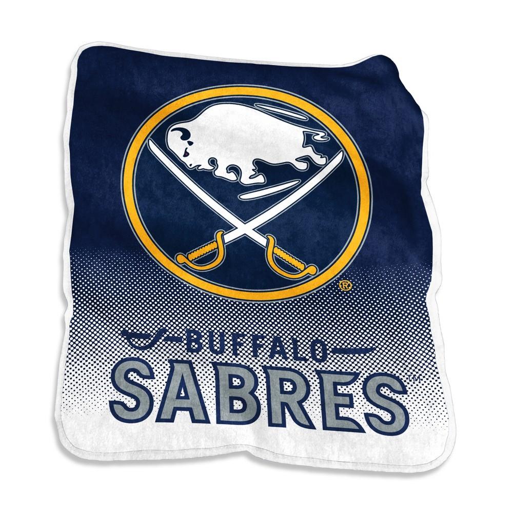 Buffalo Sabres Raschel Throw Blanket