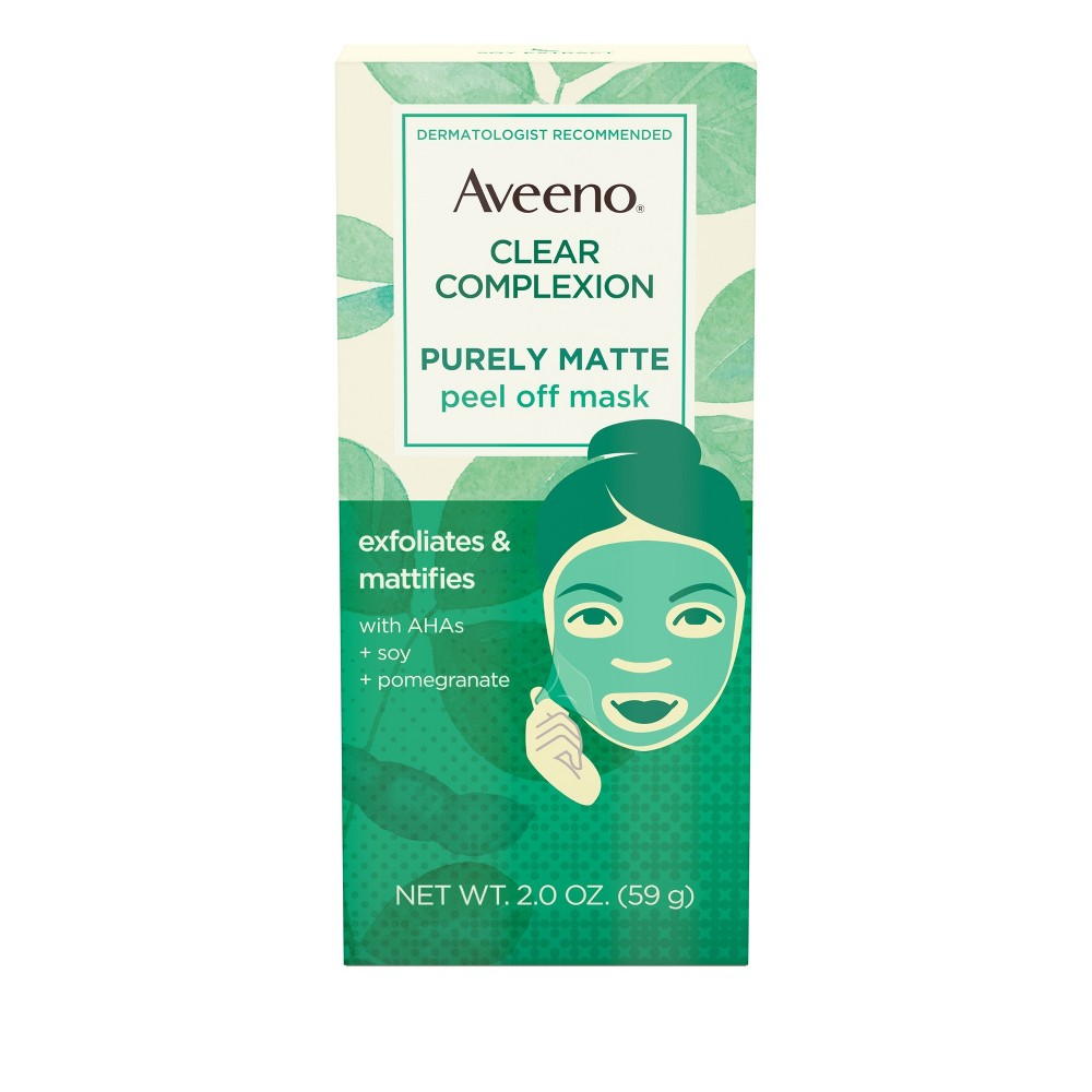 Aveeno Clear Complexion Pure Matte Peel Off Face Mask - 2.0oz