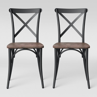 Malden French Bistro Dining Chair with Wood Seat - Threshold™