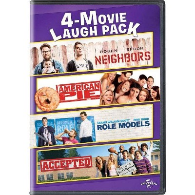 Neighbors / American Pie / Role Models / Accepted (DVD)(2017)