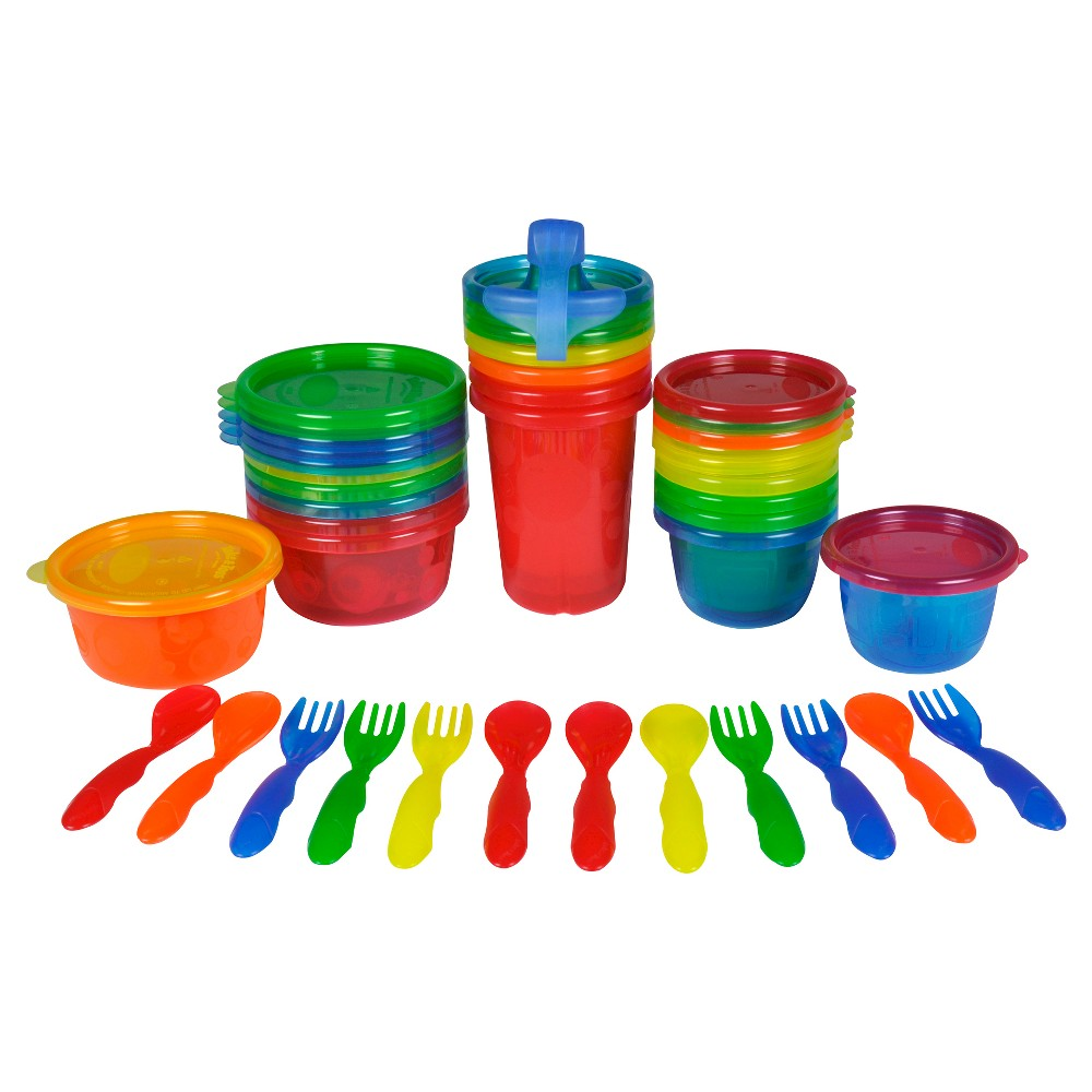 The First Years Take and Toss Feeding Variety Pack 28 pc., Multi-Colored