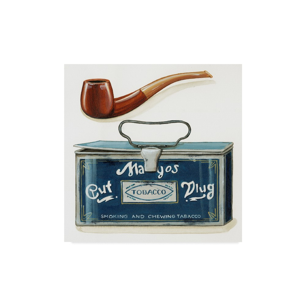 Lisa Audit Pipe & Tobacco Unframed Wall 18