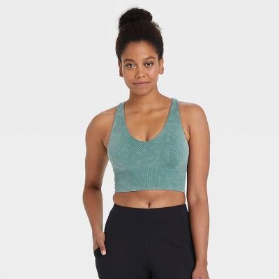 Women's Medium Support V-Neck Seamless Bra - All in Motion™