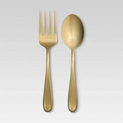 Celeste Serving Set 2-pc. Stainless Steel Gold - Threshold™