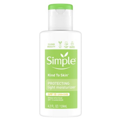 Facial Moisturizer: Simple Protecting Hydrating Light Moisturizer