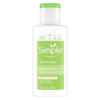 Simple Kind to Skin Protecting Light Moisturizer - SPF 15 - 4.2 fl oz
