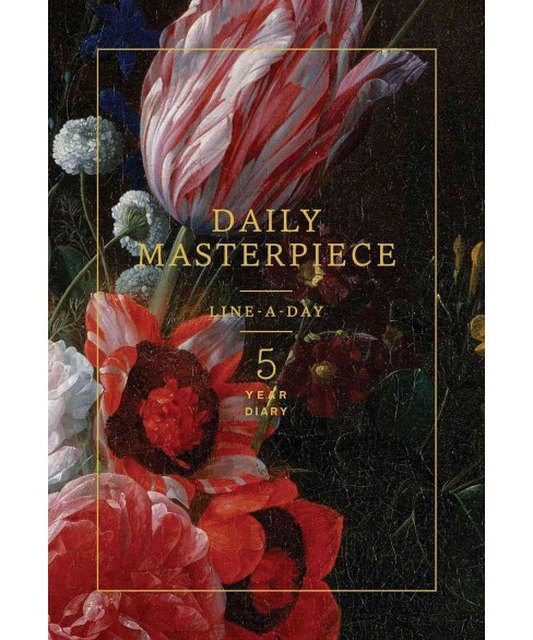 Daily Masterpiece : Line-a-Day 5 Year Diary (Hardcover) - image 1 of 1