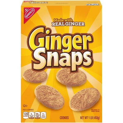 Nabisco Ginger Snaps Cookies - 16oz