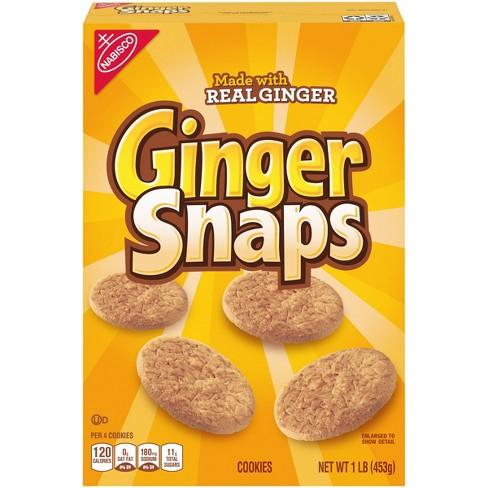 Nabisco Ginger Snaps Cookies - 16oz - image 1 of 4