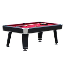 Hathaway Jupiter 7' Pool Table - Black