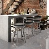"""Amisco Browser 30"""" Bar Stool with Upholstered Seat - image 2 of 2"""