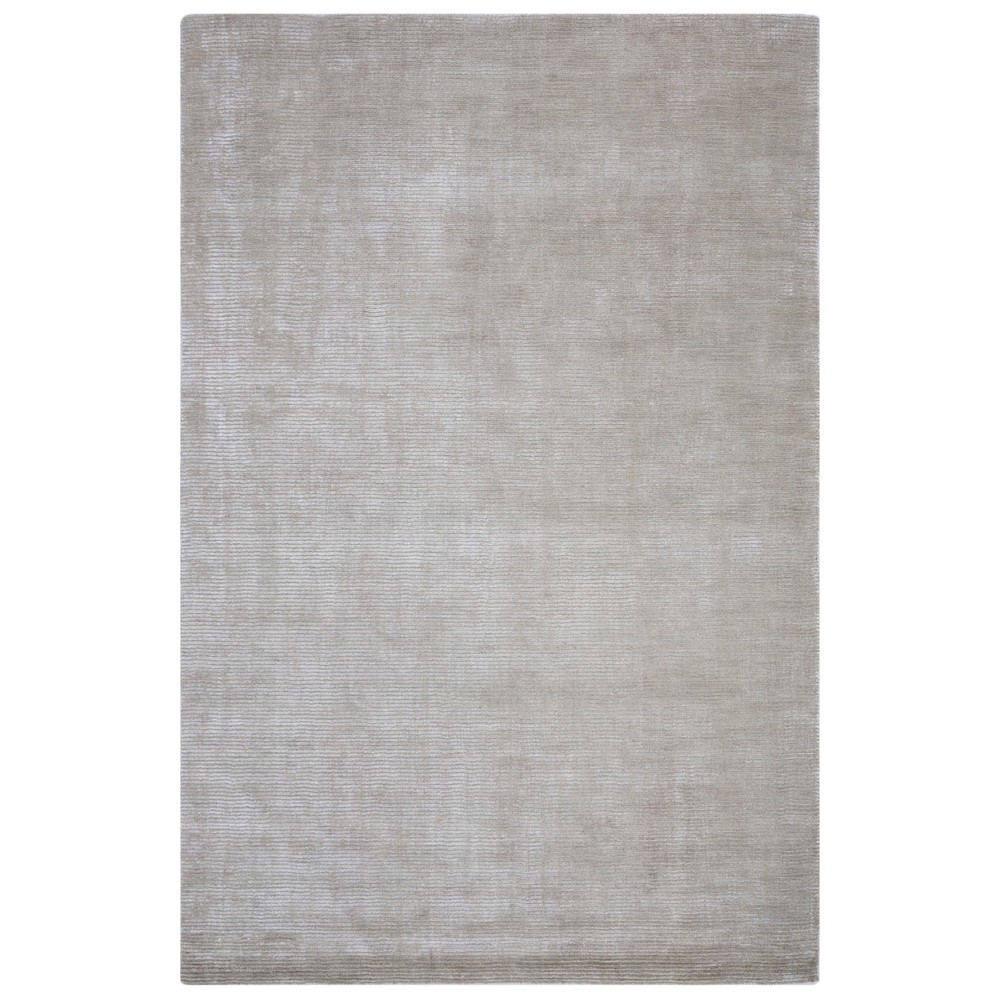 9'X12' Loomed Solid Area Rug Silver - Safavieh