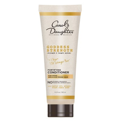 Carol's Daughter Goddess Strength Fortifying Conditioner with Castor Oil for Breakage Prone Hair - 11 fl oz