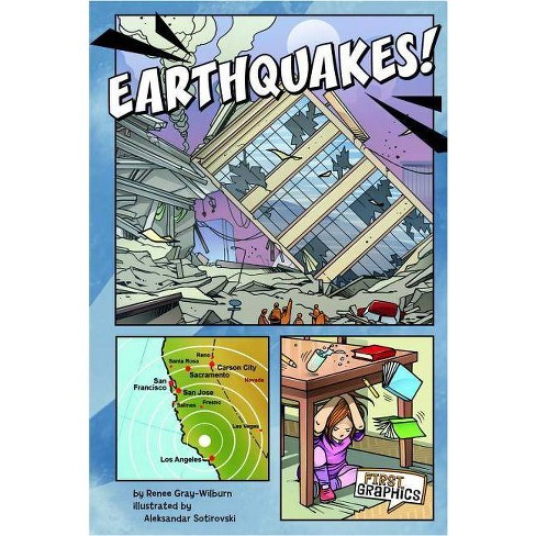 Earthquakes! - (First Graphics: Wild Earth) by  Renee Marie Gray-Wilburn (Paperback) - image 1 of 1