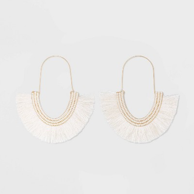SUGARFIX by BaubleBar Festive Fringe Earrings