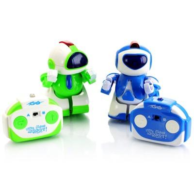 Mini Battle Robots with Remote Controls