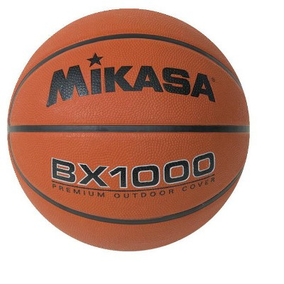 Mikasa Men's Basketball, BX1000, 29-1/2 Inches, Rubber