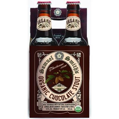 Samuel Smith's Organic Chocolate Stout Beer - 4pk/12 fl oz Bottles