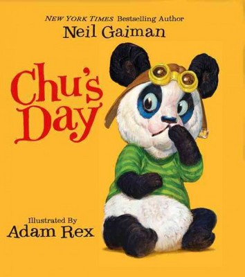 Chu's Day - by  Neil Gaiman (Board Book)