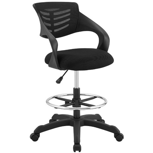 Thrive Mesh Drafting Chair - Modway - image 1 of 4