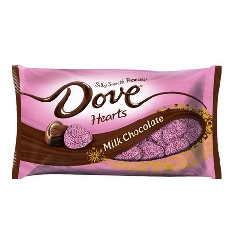 Dove Valentine S Day Milk Chocolate Hearts 8 87oz Target