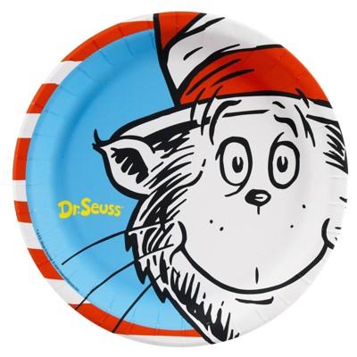 Dr. Seuss 8ct Dinner Plate