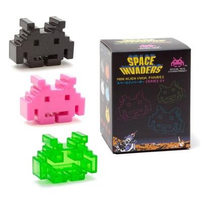 Crowded Coop, LLC Space Invaders Blind Box Vinyl Mini Figures