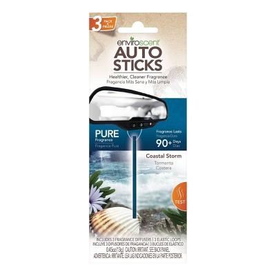 Enviroscent 3pc Car Air Freshener Coastal Storm
