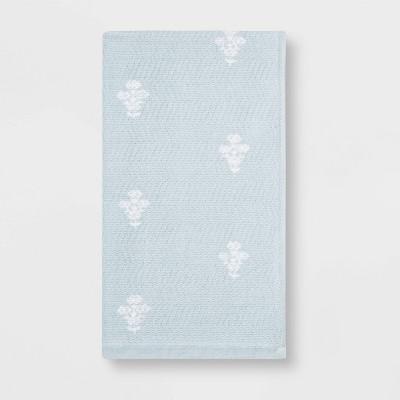 Flat Woven Bath Towel Aqua - Threshold™