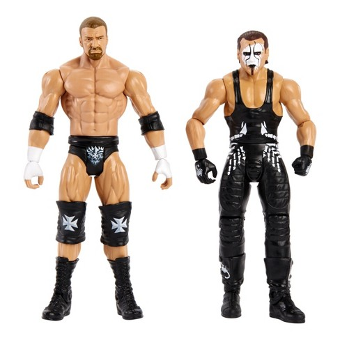 WWE Wrestlemania Battle Pack Sting and Triple H Figure 2pk - image 1 of 4
