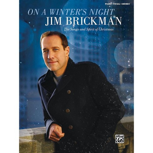 Alfred Jim Brickman - On a Winter's Night: The Songs and Spirit of Christmas Piano/Vocal/Chords Book - image 1 of 1