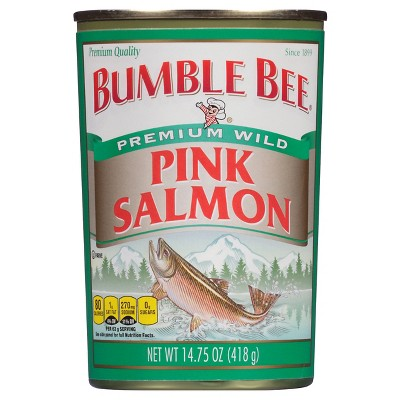 Bumble Bee Premium Wild Pink Salmon 14.75oz