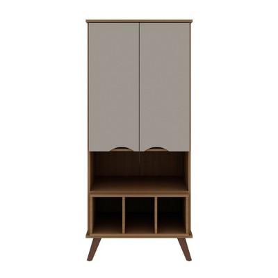 "26.77"" Hampton Display Cabinet - Manhattan Comfort"