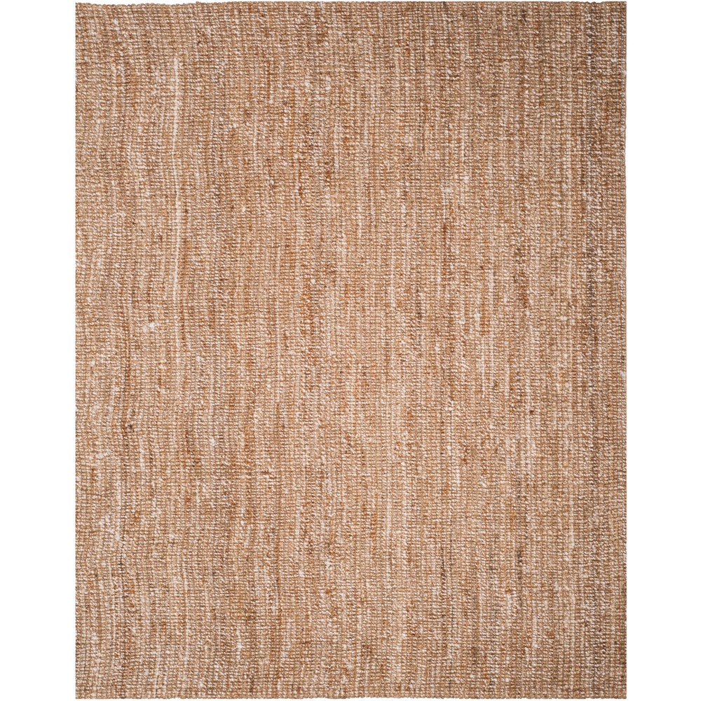 Solid Woven Area Rug Natural/Ivory