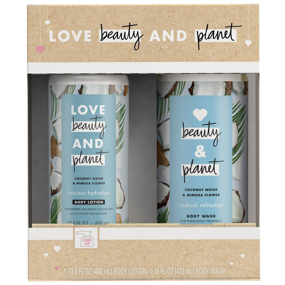 Image of Love Beauty and Planet Coconut Gift Pack